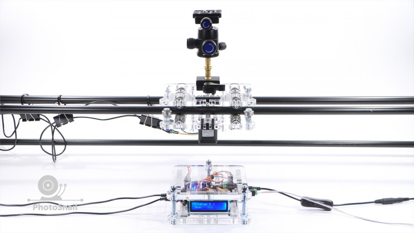 DIY моторизированный слайдер для съемки TimeLapse и видео - 2