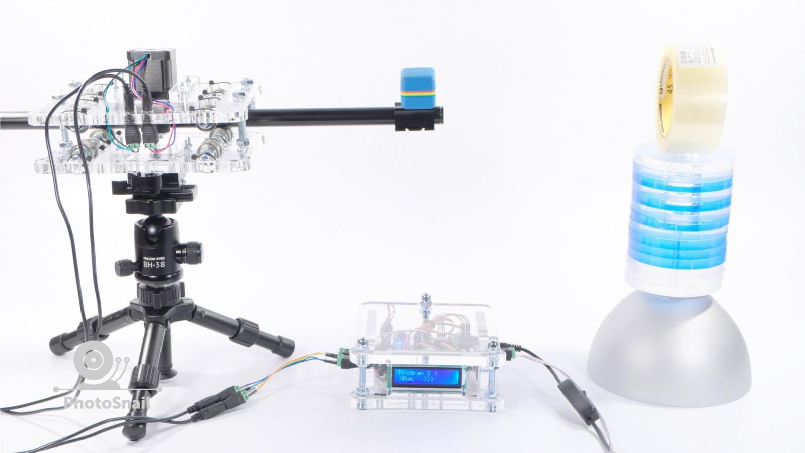 DIY моторизированный слайдер для съемки TimeLapse и видео - 5