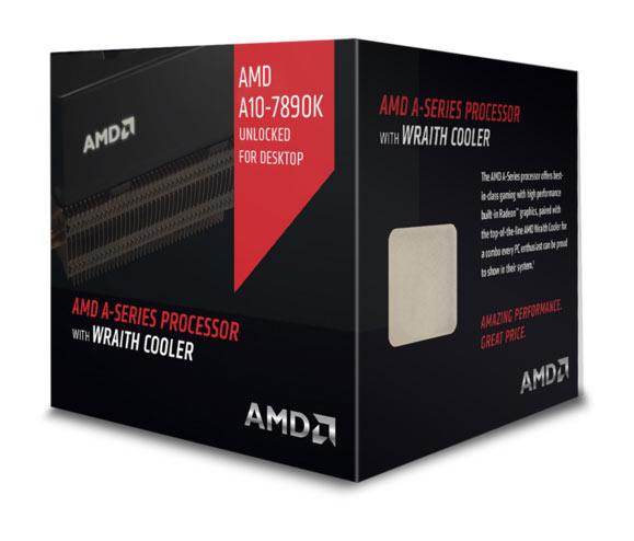 Процессоры AMD A10-7890K и Athlon X4 880K будут поставляться с новыми системами охлаждения AMD