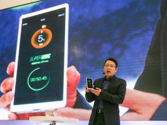 Super VOOC- быстрая зарядка для смартфонов