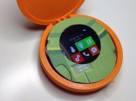 Американские разработчики создали необычный круглый смартфон для женщин