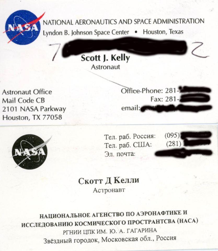 Астронавт Скотт Келли за год в космосе вырос на 5 см - 4