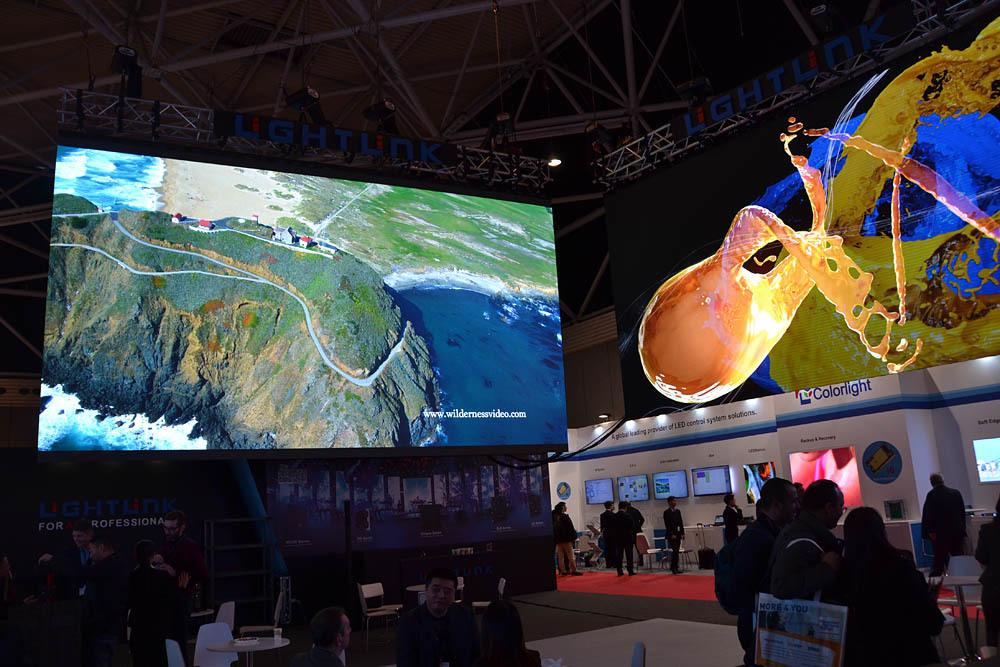 Свежая выставка ISE – новые светодиоды, экраны в окнах и как сломать экран, который не ломается - 10