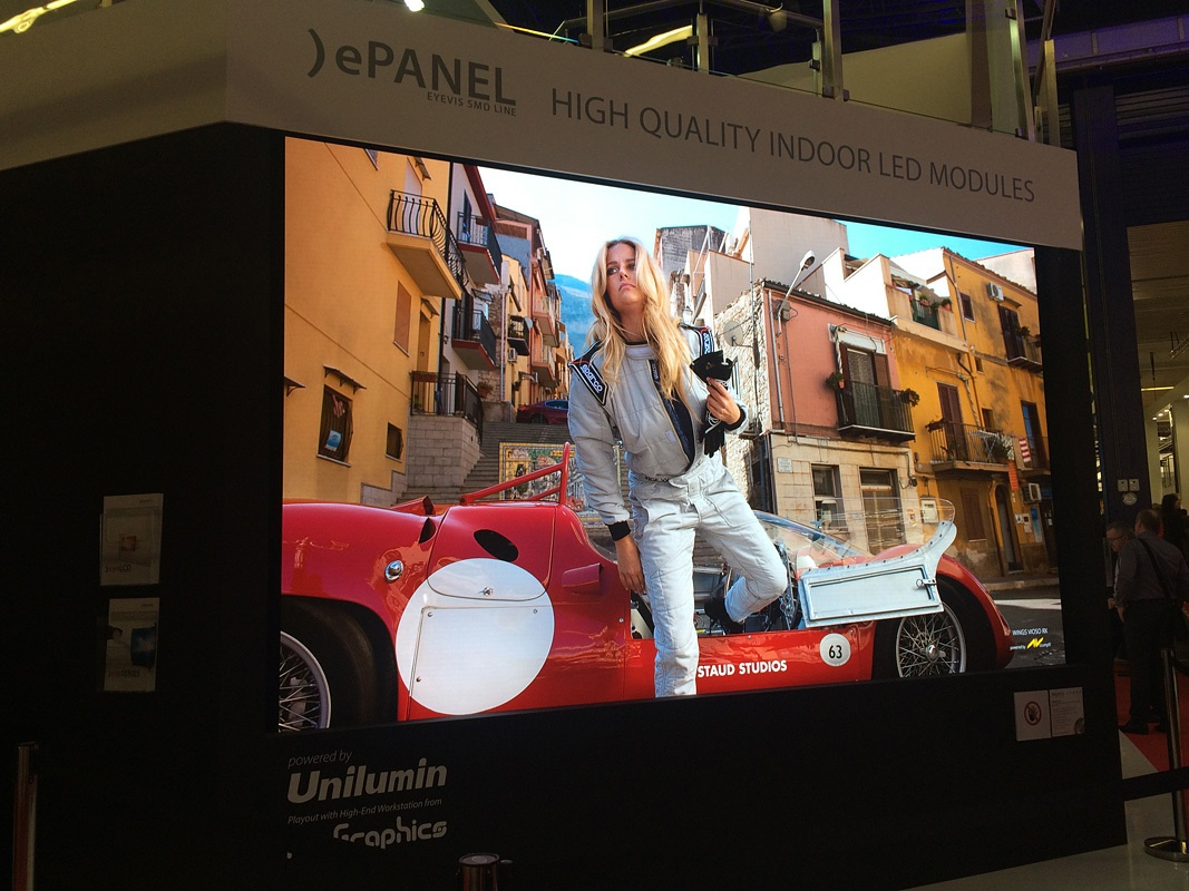 Свежая выставка ISE – новые светодиоды, экраны в окнах и как сломать экран, который не ломается - 11
