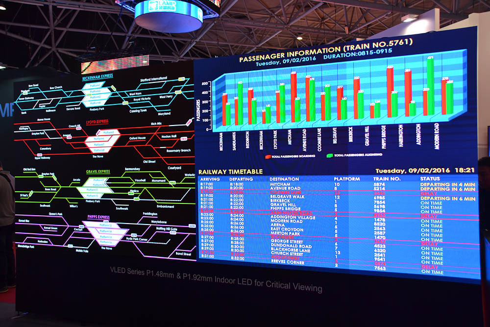 Свежая выставка ISE – новые светодиоды, экраны в окнах и как сломать экран, который не ломается - 13
