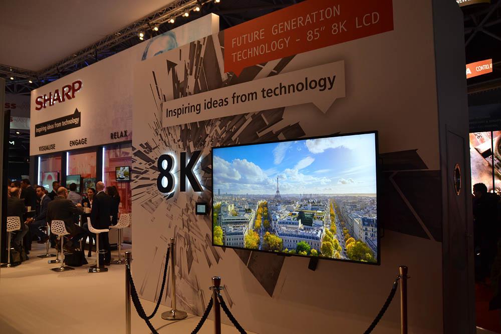 Свежая выставка ISE – новые светодиоды, экраны в окнах и как сломать экран, который не ломается - 16