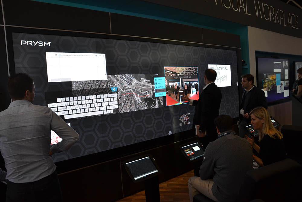 Свежая выставка ISE – новые светодиоды, экраны в окнах и как сломать экран, который не ломается - 18