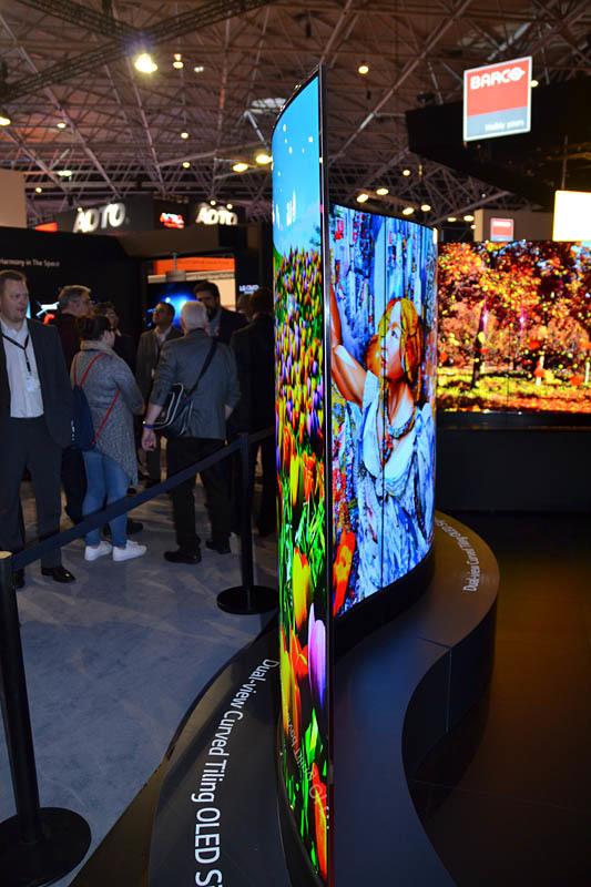 Свежая выставка ISE – новые светодиоды, экраны в окнах и как сломать экран, который не ломается - 5