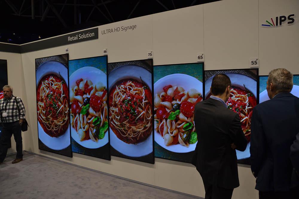 Свежая выставка ISE – новые светодиоды, экраны в окнах и как сломать экран, который не ломается - 6