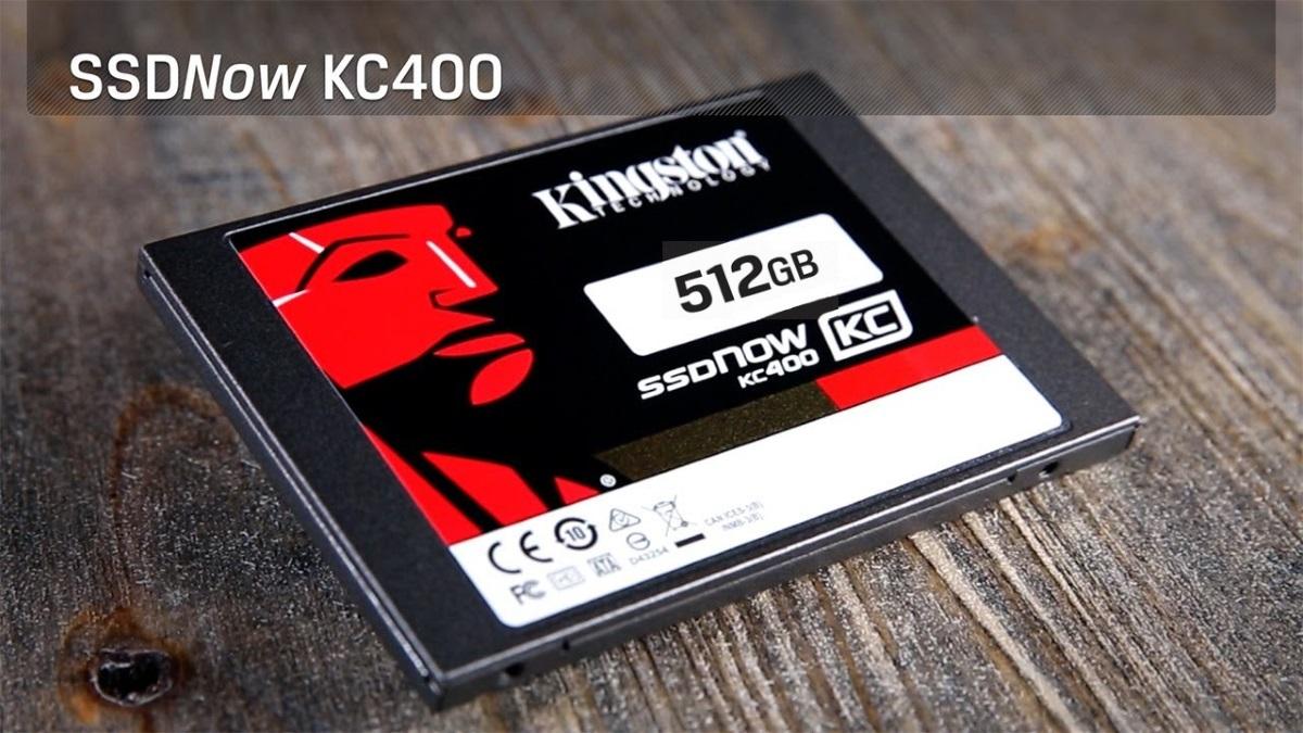 Твердотельный накопитель для корпоративного сегмента Kingston KC400 емкостью 512 гигабайт - 1
