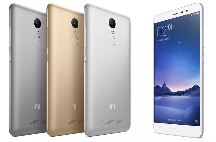 Xiaomi представила в Индии смартфон Redmi Note 3