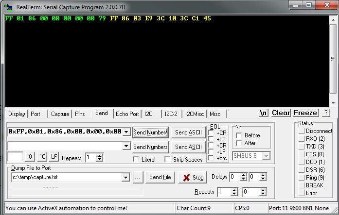 Обзор инфракрасного датчика CO2 MH-Z19 - 6