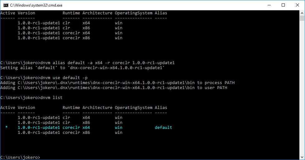 Подготовка ASP.NET 5 (Core) проекта и DNX окружения для участия в хакатоне в рамках hack.summit() 2016 на Koding.com - 3