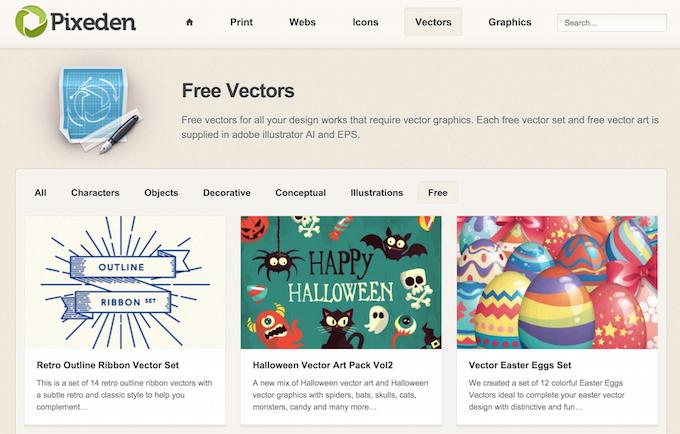 Векторная графика бесплатно — подборка сайтов - 11