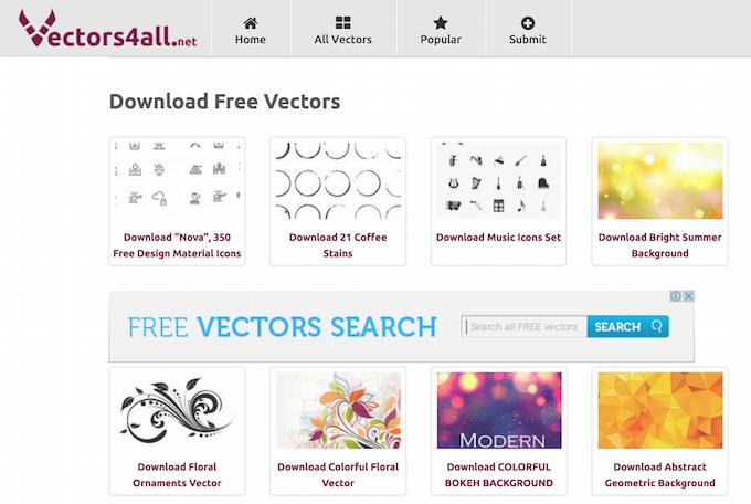 Векторная графика бесплатно — подборка сайтов - 18