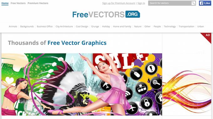 Векторная графика бесплатно — подборка сайтов - 24