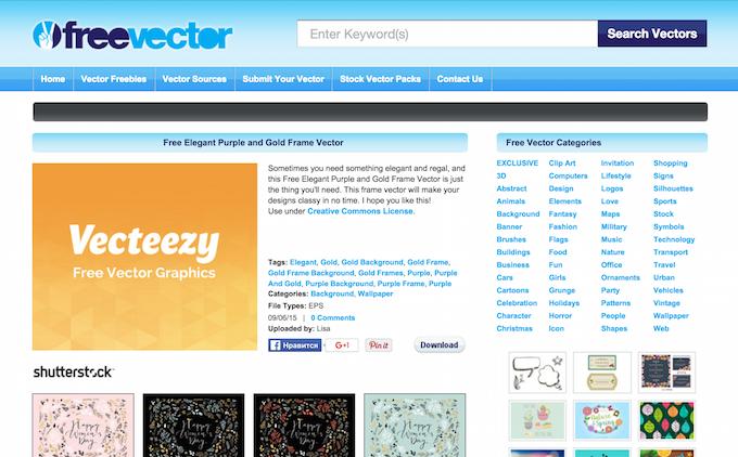 Векторная графика бесплатно — подборка сайтов - 4