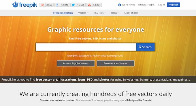 Векторная графика бесплатно — подборка сайтов - 1