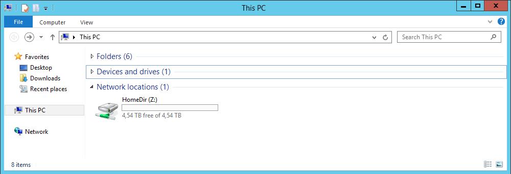 Добавление сетевых дисков с персональными папками для пользователей через GPP на примере Windows Server 2012R2 - 1
