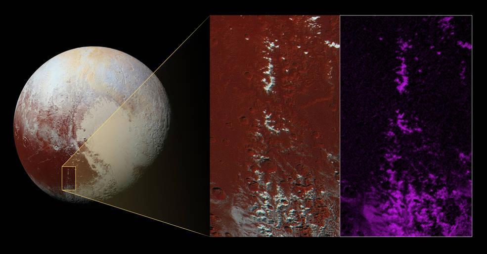 На Плутоне обнаружили снег - 1
