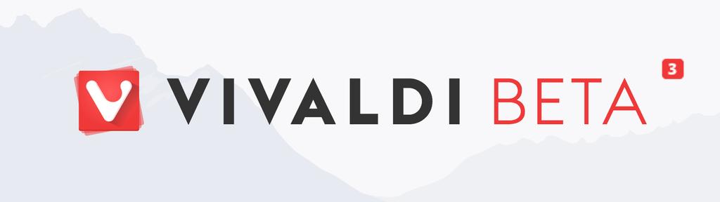 Релиз браузера Vivaldi Beta 3 - 1