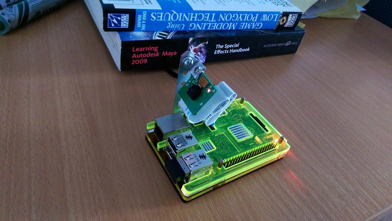 Тир на Raspberry, версия 2.0 - 7