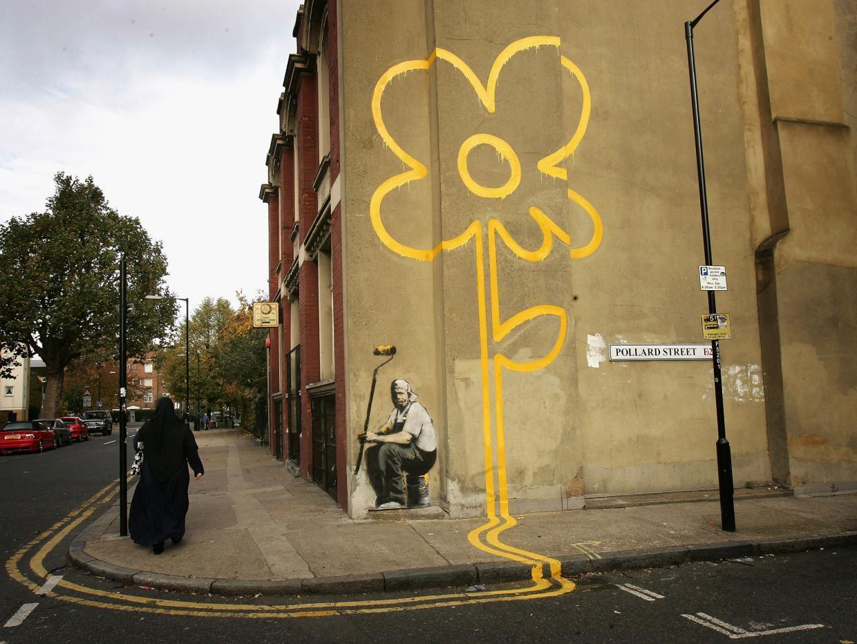 Учёные составили геопрофиль анонимного граффитиста Бэнкси - 2
