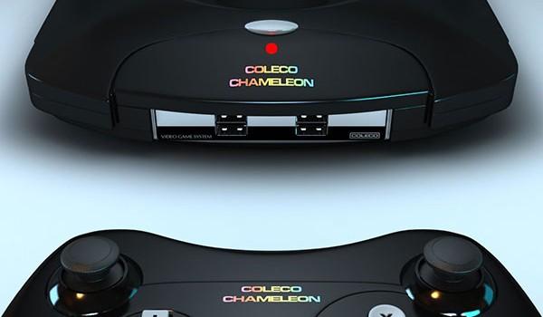 Coleco Chameleon, игровая ретро-консоль с Indiegogo, собрана из картона, изоленты и платы видеозахвата - 1