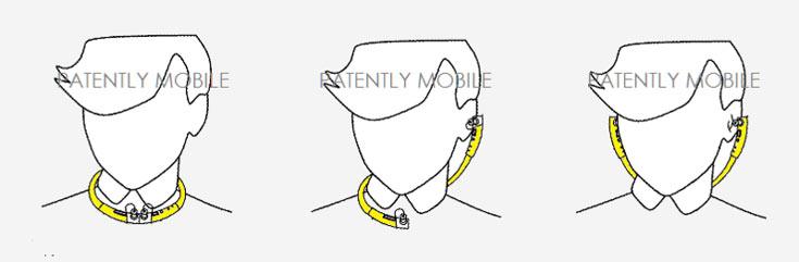 К смартфону или другому источнику звука ожерелье подключается по беспроводному интерфейсу