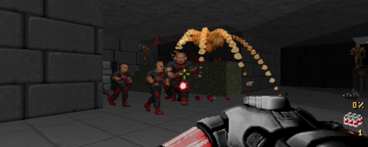 Duke Nukem в Doom II: уничтожаем все вокруг с улыбкой и фирменными шуточками Дюка - 1
