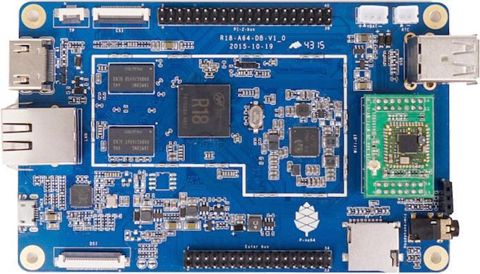Альтернативы Raspberry Pi - 3