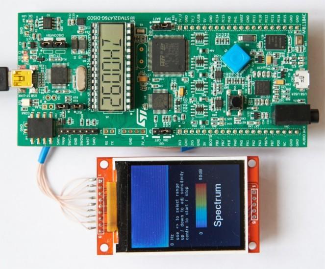 Измерим гармонию — анализатор звукового спектра на STM32L4 Discovery - 1