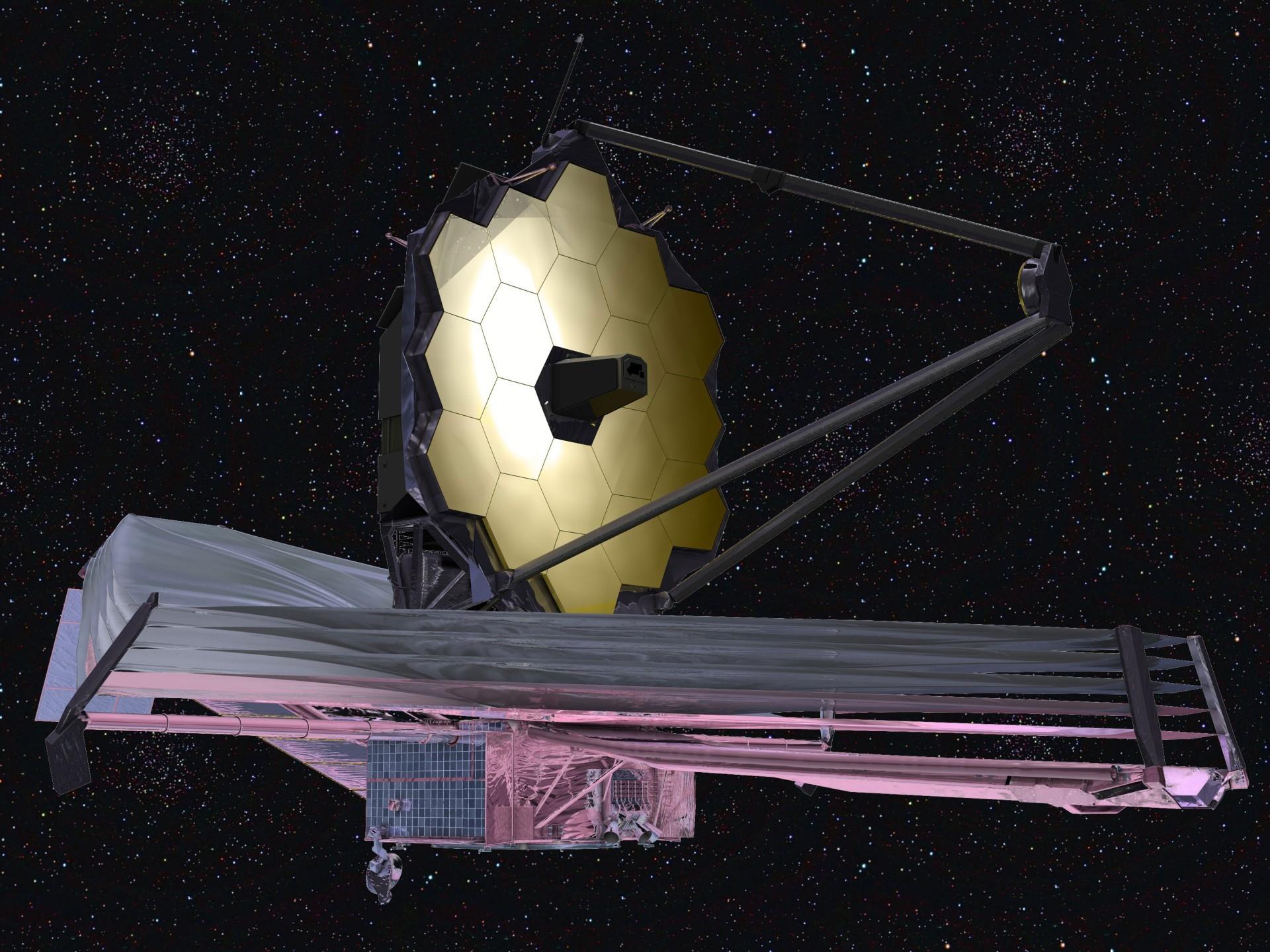 На телескоп Джеймса Уэбба установили вторичное зеркало - 4