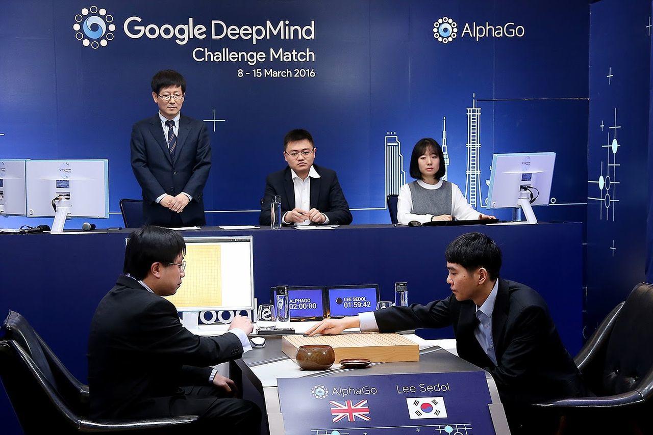 AlphaGo выиграл первую игру у Ли Седоля - 1