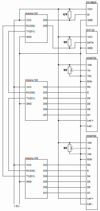 FLProg — объединение плат Arduino в информационное кольцо - 2