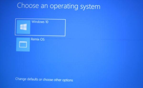 Remix OS для ПК beta: как организовать dual-boot с Windows и начать работу с новой ОС - 5