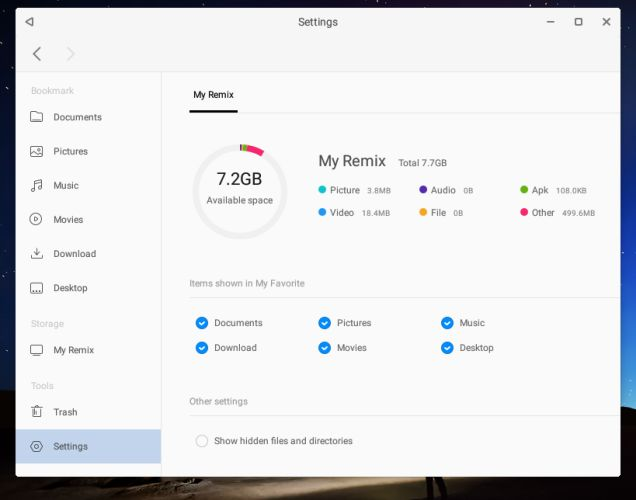 Remix OS для ПК beta: как организовать dual-boot с Windows и начать работу с новой ОС - 6