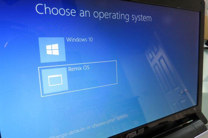 Remix OS для ПК beta: как организовать dual-boot с Windows и начать работу с новой ОС - 1