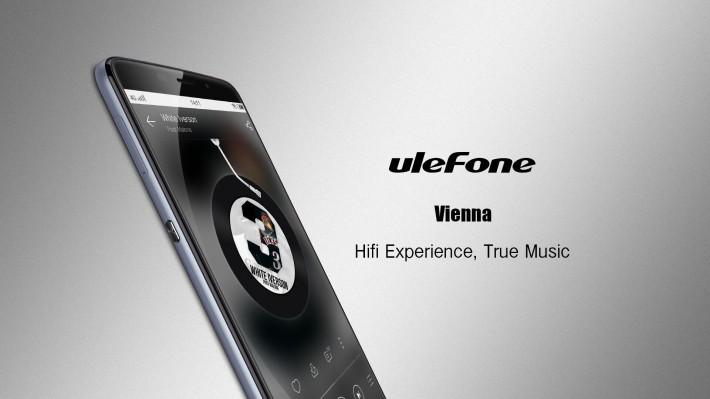 Смартфон Ulefone Vienna получит дисплей Sharp