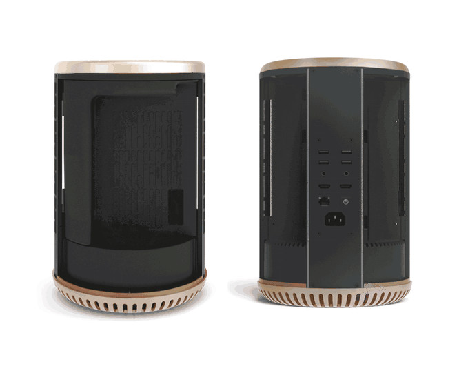Габариты корпуса Dune Case — 260 x 215 x 215 мм