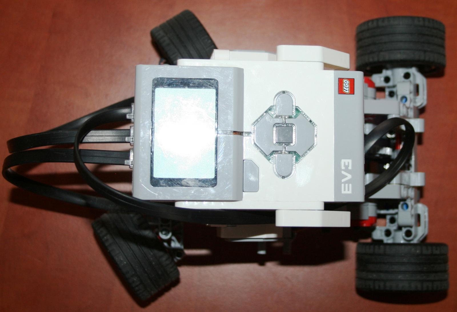 Взаимодействие с роботом на базе конструктора Lego Mindstorms EV3 через RCML - 2