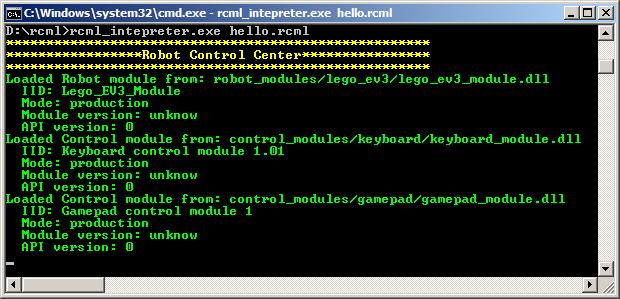 Взаимодействие с роботом на базе конструктора Lego Mindstorms EV3 через RCML - 20