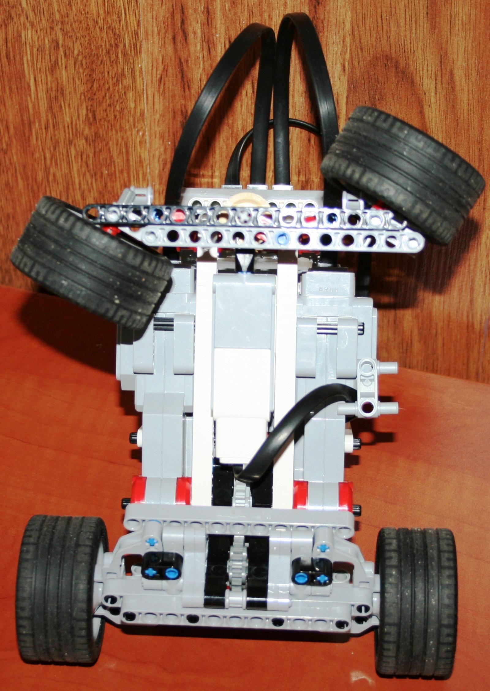 Взаимодействие с роботом на базе конструктора Lego Mindstorms EV3 через RCML - 3