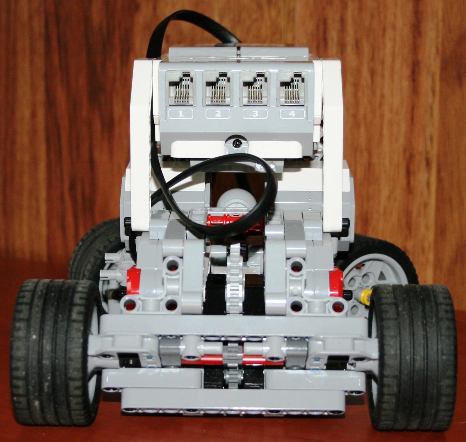 Взаимодействие с роботом на базе конструктора Lego Mindstorms EV3 через RCML - 4