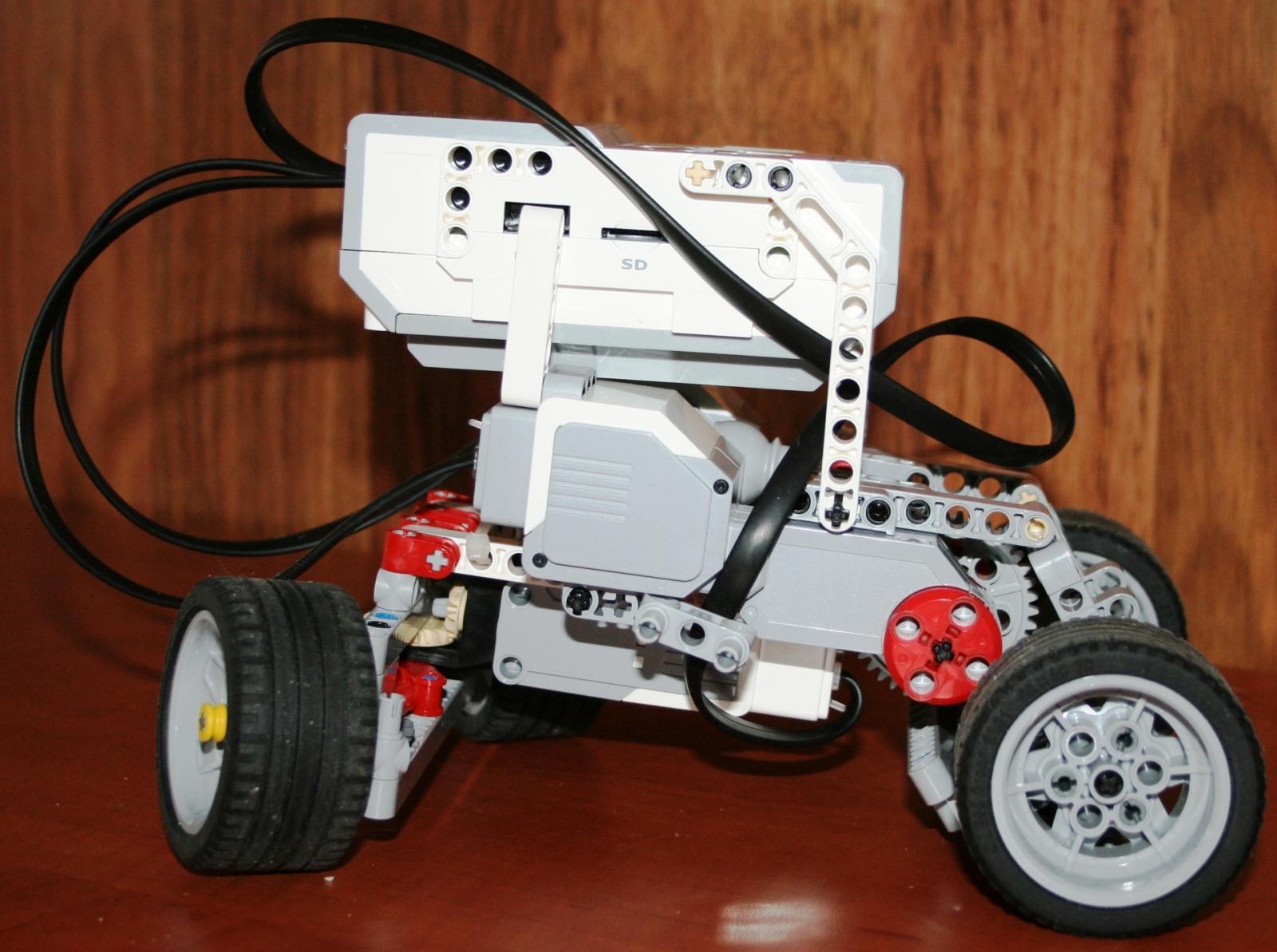 Взаимодействие с роботом на базе конструктора Lego Mindstorms EV3 через RCML - 5