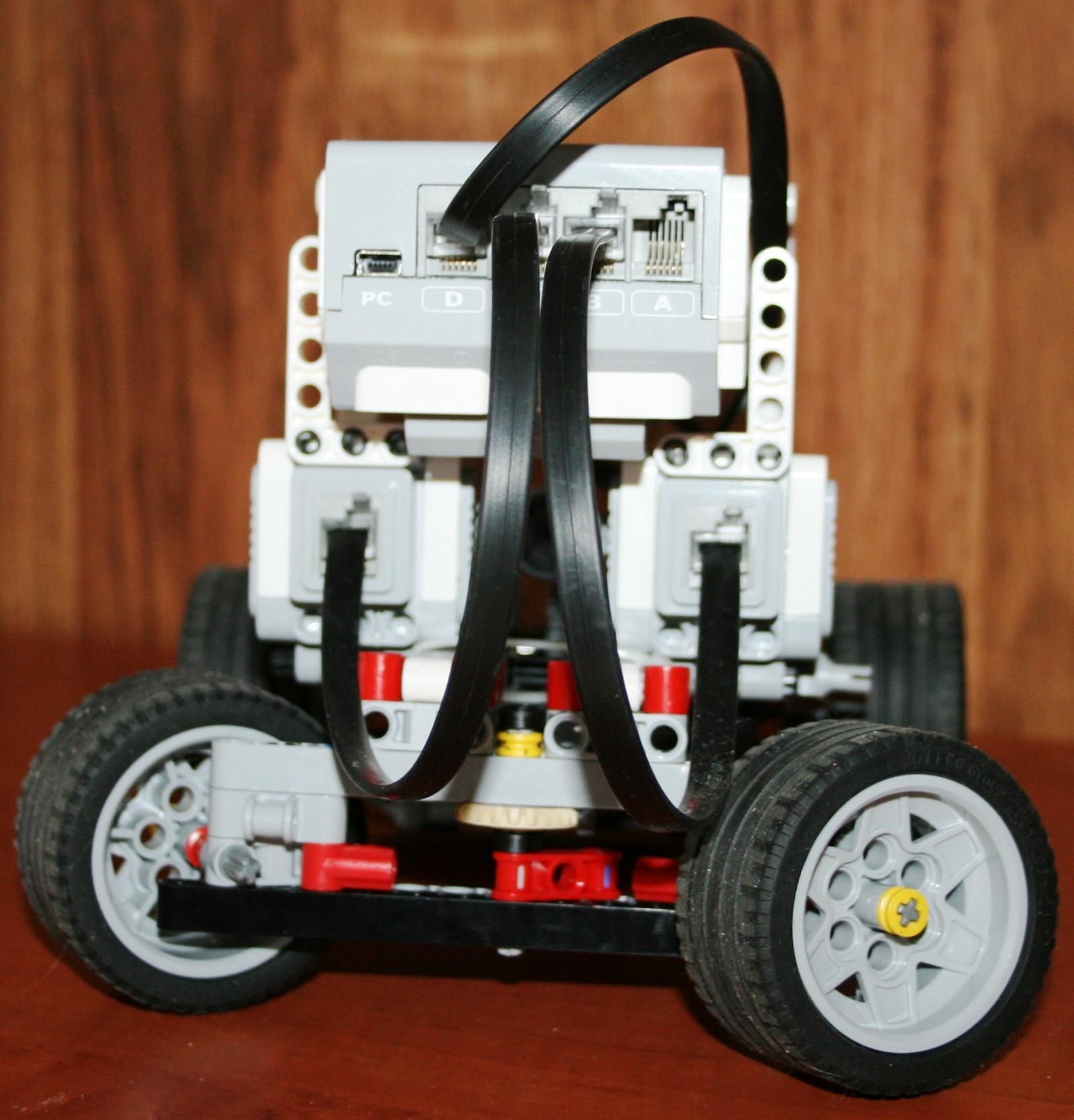 Взаимодействие с роботом на базе конструктора Lego Mindstorms EV3 через RCML - 6
