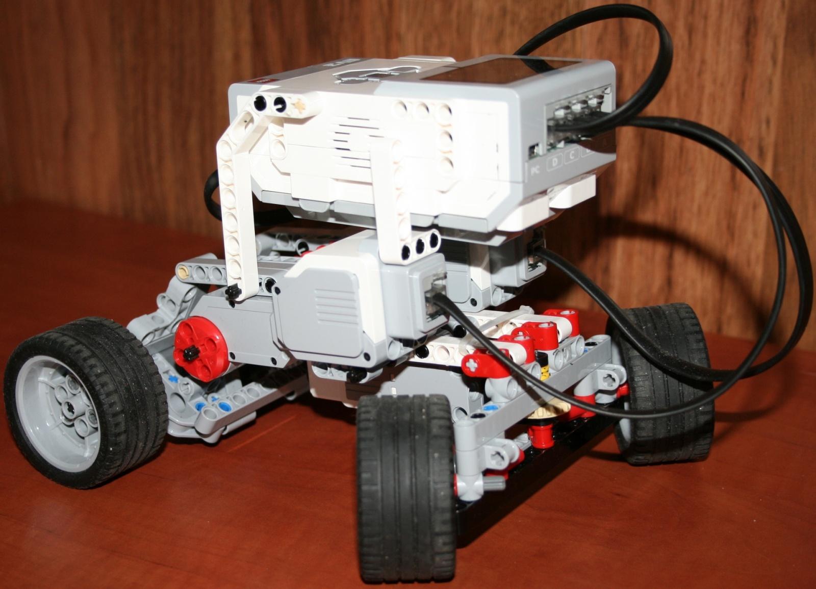 Взаимодействие с роботом на базе конструктора Lego Mindstorms EV3 через RCML - 1