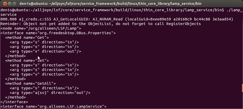 Alljoyn: взгляд embedded разработчика. Часть 2: Linux нам в помощь - 1