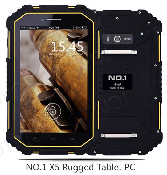 No.1 X5 — защищенный семидюймовый планшет с аккумулятором 10000 мА•ч и поддержкой сетей LTE