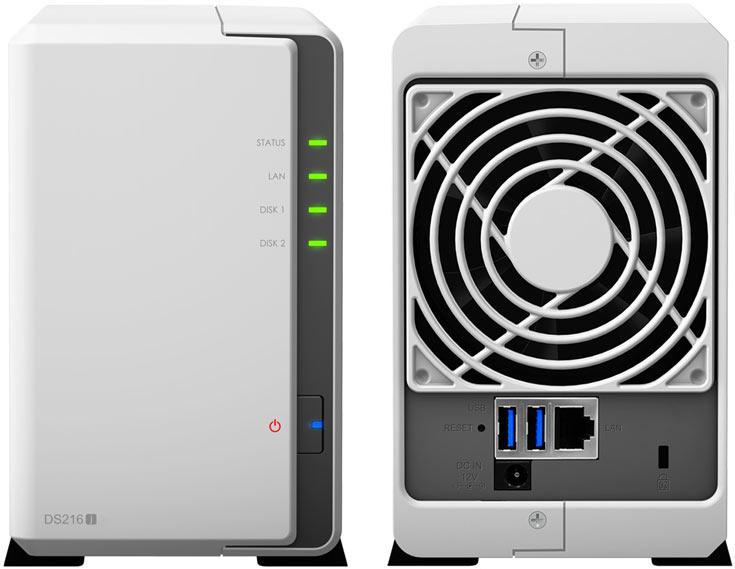 В Synology DiskStation DS216j используется двухъядерный 32-разрядный процессор Marvell Armada 385 88F6820